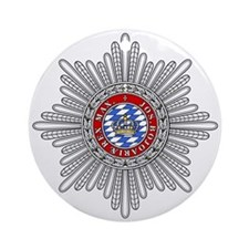 Crown of Bavaria Ornament (Round)