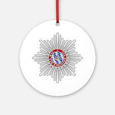 Crown of Bavaria Ornament (Round)