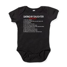 Dating My Daughter - The Rules Baby Bodysuit