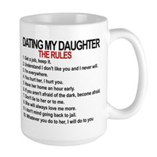 Dating My Daughter - The Rules Mug