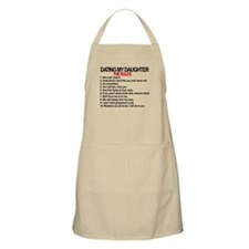 Dating My Daughter - The Rules Apron