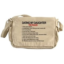 Dating My Daughter - The Rules Messenger Bag