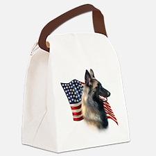 BelgianTervFlag.png Canvas Lunch Bag