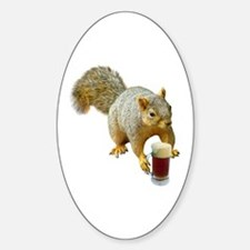 Squirrel Mug Beer Decal