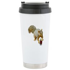 Squirrel Mug Beer Travel Coffee Mug