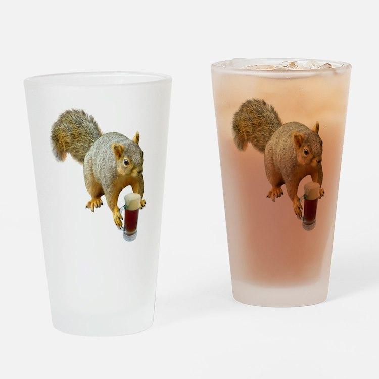 Squirrel Mug Beer Drinking Glass