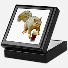 Squirrel Mug Beer Keepsake Box