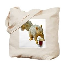 Squirrel Mug Beer Tote Bag