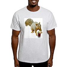 Squirrel Mug Beer T-Shirt
