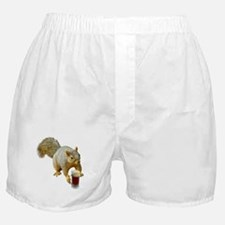 Squirrel Mug Beer Boxer Shorts