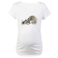 Watercolor Wolf Parent Cubs Shirt