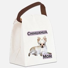 ChihuahuaMom4.png Canvas Lunch Bag