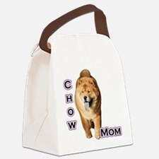 ChowMom4.png Canvas Lunch Bag