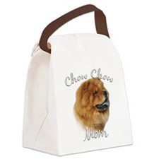 ChowMom.png Canvas Lunch Bag