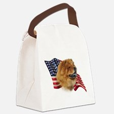 ChowFlag.png Canvas Lunch Bag