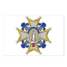 Charles III Grand Cross Postcards (Package of 8)