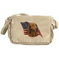 DachshundFlag.png Messenger Bag