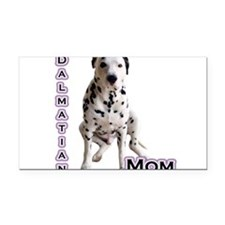 DalmatianMom4.png Rectangle Car Magnet