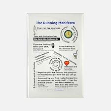 The Running Manifesto v2.0 - Mini Magnets