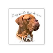 """Dogue Mom Square Sticker 3"""" x 3"""""""