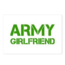 army-girlfriend-clean-green Postcards (Package of