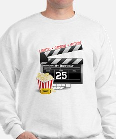 Hollywood Movie 25th Birthday Sweatshirt