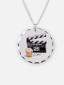 Hollywood Movie 25th Birthday Necklace