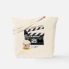 Hollywood Movie 25th Birthday Tote Bag