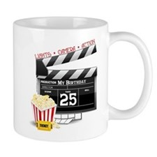 Hollywood Movie 25th Birthday Mug