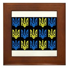 Tryzub Framed Tile