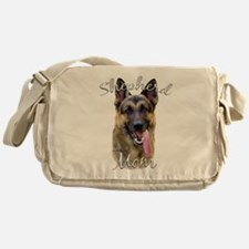 GermanShep Mom.png Messenger Bag
