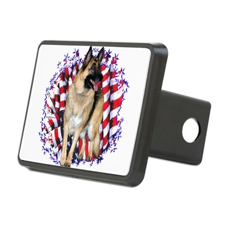 GermanShepPatriot.png Rectangular Hitch Cover