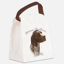 GermanShortMom.png Canvas Lunch Bag