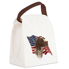 GermanShortFlag.png Canvas Lunch Bag
