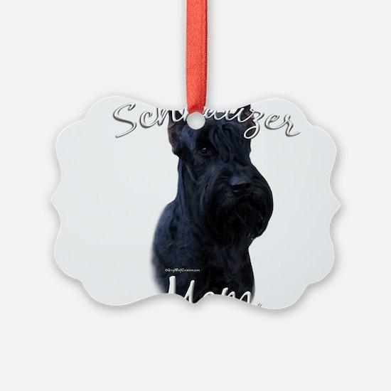 GiantSchnauzerMom.png Ornament
