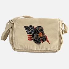 GordonSetterFlag.png Messenger Bag