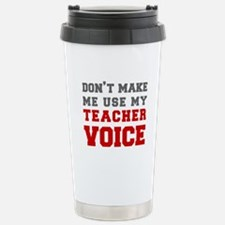 teachers-voice-fresh-gray Travel Mug