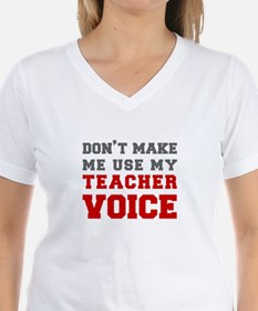 teachers-voice-fresh-gray T-Shirt
