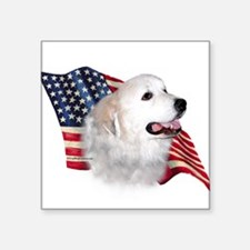 """GreatPyrFlag.png Square Sticker 3"""" x 3"""""""