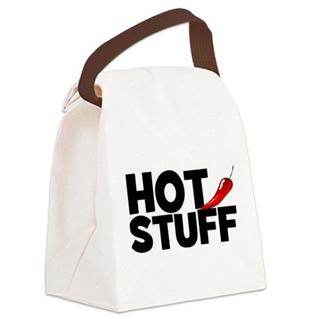 Hot Stuff Canvas Lunch Bag