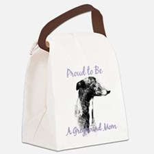 GreyhoundMom1.png Canvas Lunch Bag
