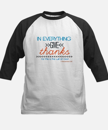 In Everything Give Thanks Baseball Jersey