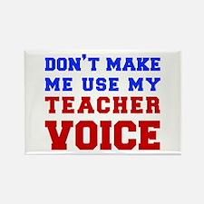 teachers-voice-fresh Rectangle Magnet