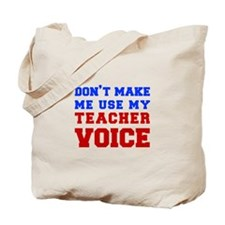 teachers-voice-fresh Tote Bag