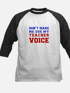 teachers-voice-fresh Baseball Jersey
