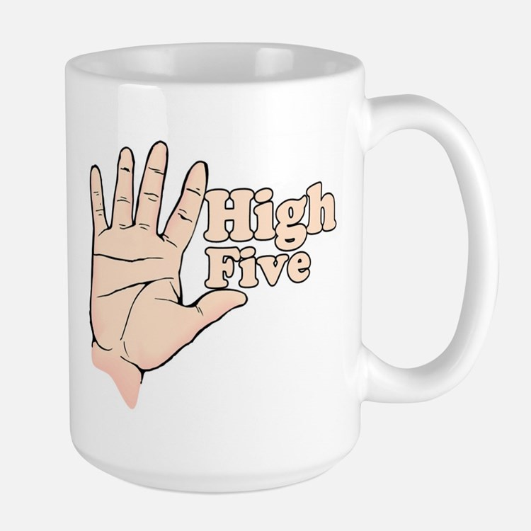 High Five Borat Movie Quote Mug