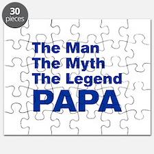 papa-akz-blue Puzzle