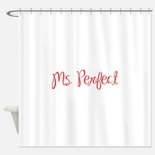 ms-perfect-sexy-red Shower Curtain