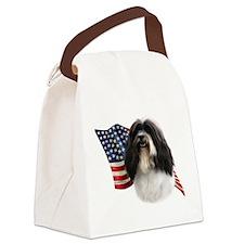 HavaneseFlag.png Canvas Lunch Bag