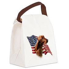 IrishSetterFlag.png Canvas Lunch Bag